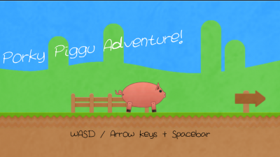Porku Piggu Adventure!